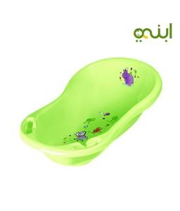 Keeeper Carrycot Maria Hippo Kids Bath Tub with Plugs, Purple