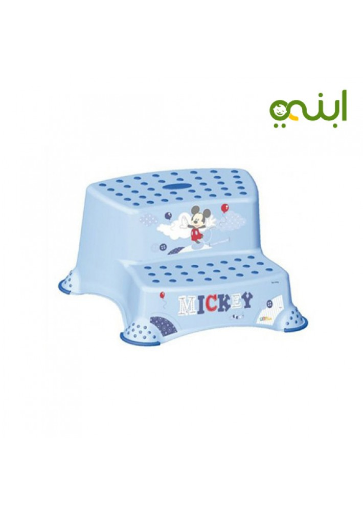 Awesome Double Step Stool With Anti Slip Function Light Blue Keeper Brand Pabps2019 Chair Design Images Pabps2019Com