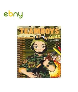 كتاب تلوين الجيش الممتعة للأولاد