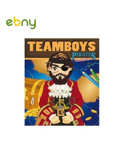 كتاب تلوين القراصنة المثيرة للأولاد