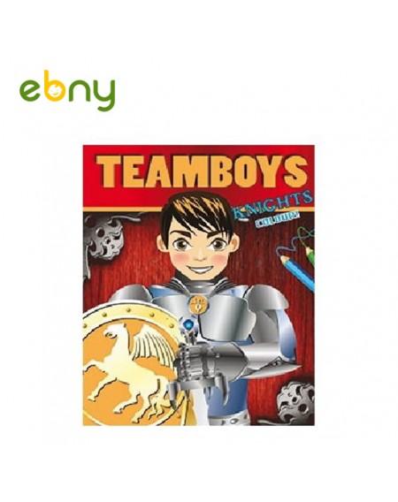 كتاب تلوين الفرسان المشوقة للأولاد