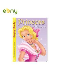 كتاب تلوين من سلسلة الأميرات الجمال النائم