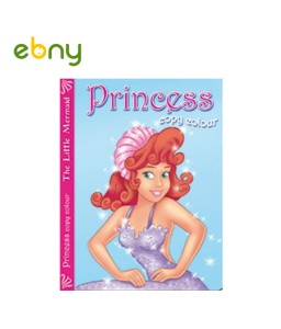 كتاب تلوين من سلسلة الأميرات عروسة البحر