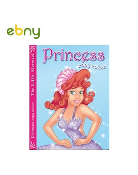 كتاب تلوين من سلسلة الأميرات عروسة البحرالكتب