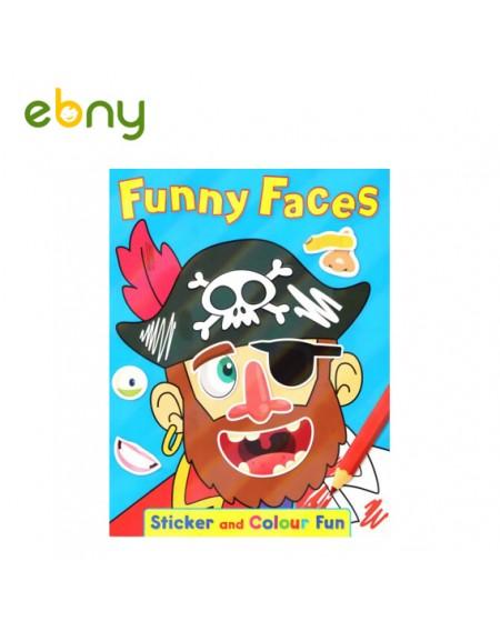 كتاب الوجوه المضحكة رقم 1 المرح لطفلك
