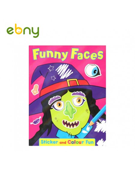 كتاب الوجوه المضحكة رقم 2 الممتع لطفلك