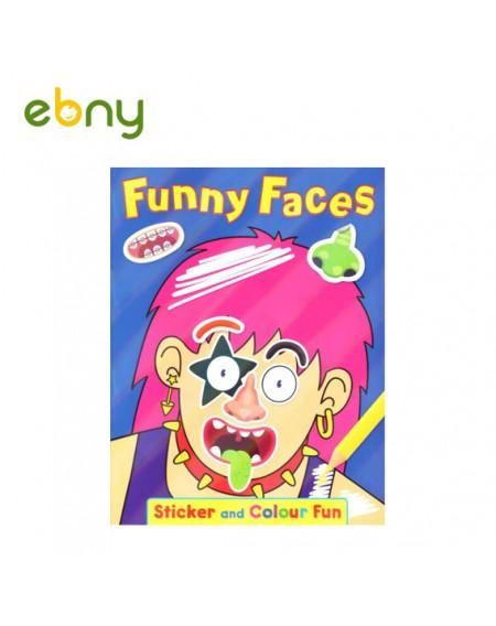 كتاب الوجوه المضحكة رقم 3 الرائع لطفلك