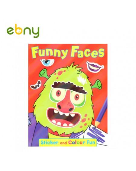 كتاب الوجوه المضحكة رقم 4 المميز لطفلك