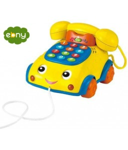 لعبه علي شكل تليفون لتعليم الحروف والارقام