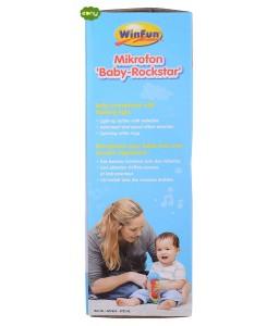 ميكروفون للاطفال مزود بالأضواء والمؤثرات الصوتية