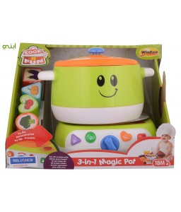 Winfun 3 in 1 Magic Pot, Multi Color