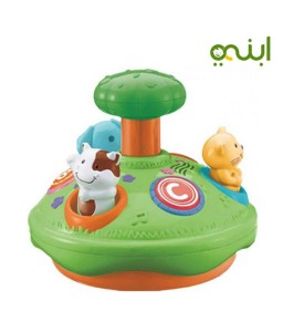 Animal spinner with simple learning activity distinctive toy