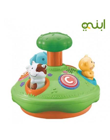 لعبة مميزة سبينر حيوان مع نشاط تعليميمن الولاده الي عمر سنتين