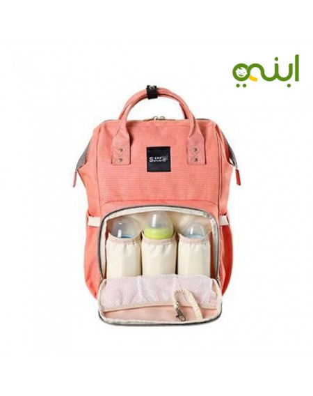 Sunveno NB22179 Diaper Bag, OrangeFrom birth to two years