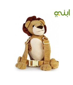 حزام أمان للطفل ماركة جولد باغ على شكل أسد