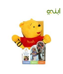 حزام أمان للطفل ماركة جولد باغ على شكل دب