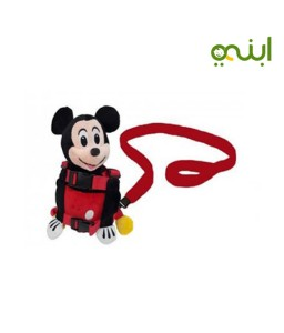 A Mickey Mouse baby safety belt