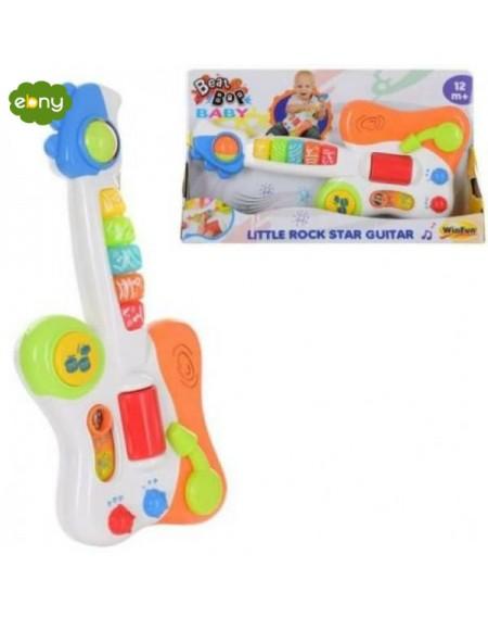 جيتار روك صغير لتعليم الاطفالمن الولاده الي عمر سنتين