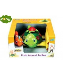Teach your son the first steps to learn numbers 123 and letters A B C with Game Turtle
