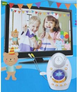 لعبه كايروكي للاطفال ميكرفون يتم توصيله بالتلفزيون