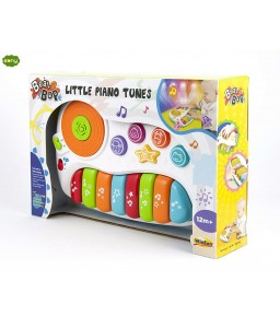 A small piano for children in musical styles
