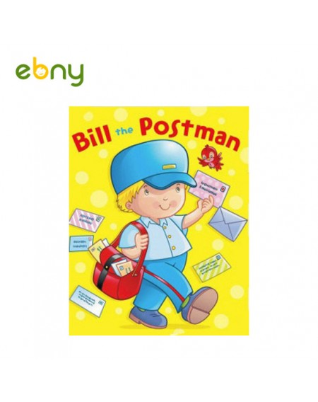 بيل ساعى البريد يعرف الأطفال على وظيفة ساعي البريد