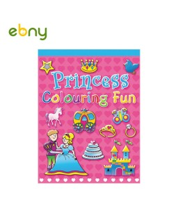 Princess Colouring book for Wonderful girls