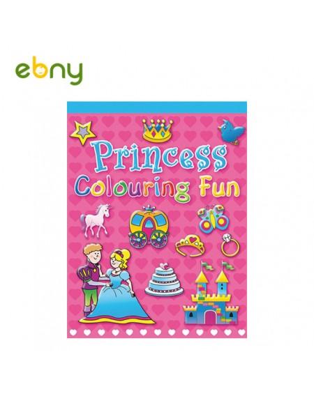 لوح تلوين الأميرات الرائعة للفتيات