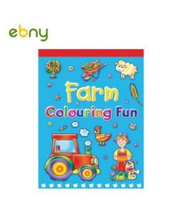 لوح تلوين المزرعة 1 ترفيه وتعليم لأطفالك