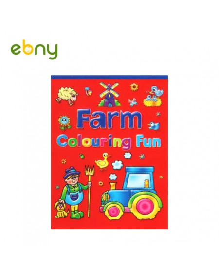 لوح تلوين المزرعة 2 لأطفالك الصغار