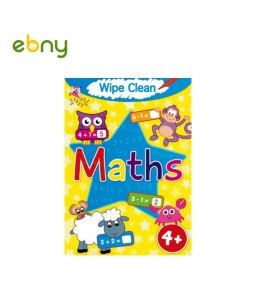 Wipe Clean Maths To develop your child's intelligence