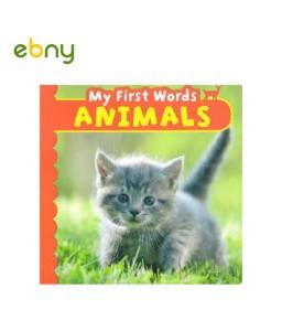 كلماتى الأولى عن الحيوانات مليئة بالصور الطبيعية للحيوانات