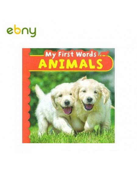 كلماتى الأولى عن الحيوانات كتاب مميز لسن صغير