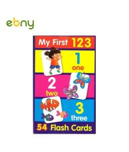 أول بطاقات فلاش لتعلم الأرقام لطفل مميز