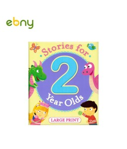 Stories For 2 Years Olds Large Print With colourful illustrattions