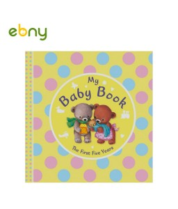 My Baby Book chart all your child's details from birth to five years