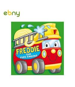 فريدى سيارة الإطفاء أهمية التعاون للأطفال