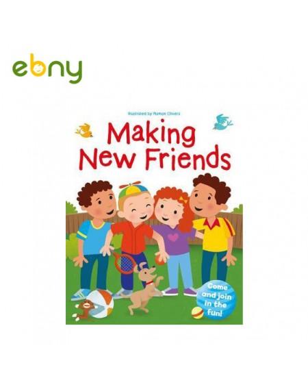 قصة الصداقات الجديدة للأطفال