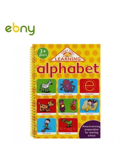 كتاب الأبجدية فوق 3 سنوات التعليمي لطفلك