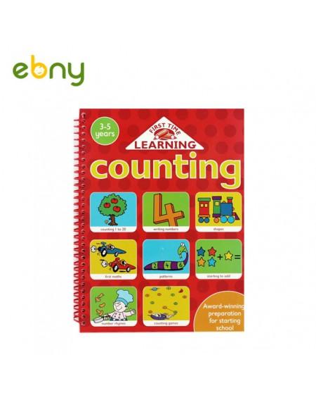 كتاب العد فوق 3 سنوات التعليمي لطفلك