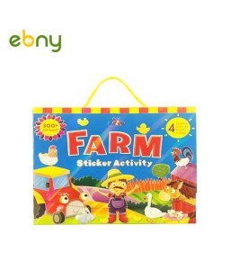 Farm Carry Case Activity Pack more than 300 stickers