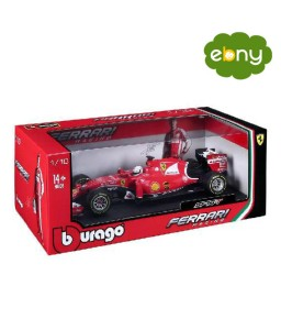 Adventure toy of a racing car Burago