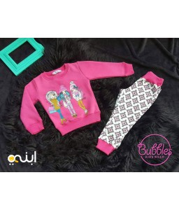 Great pijama for girls for warm winter