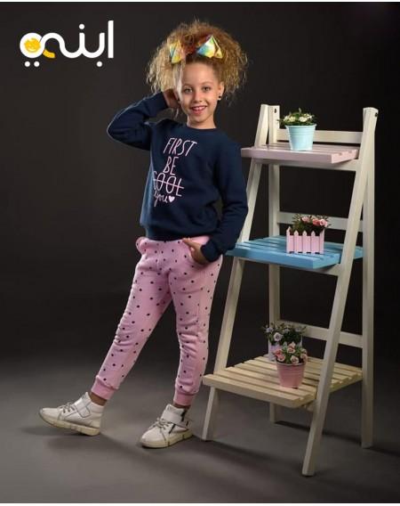 بيجامة سترة المميزة المتألقة للفتيات الصغيرة