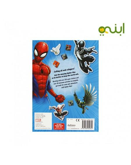 مارفل الرجل العنكبوت كتاب استيكرات