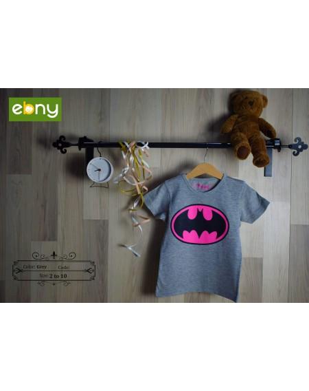 اطفالك أبطال مع تي شيرت فليبر المميز برسمة باتمان من 5:2 سنوات