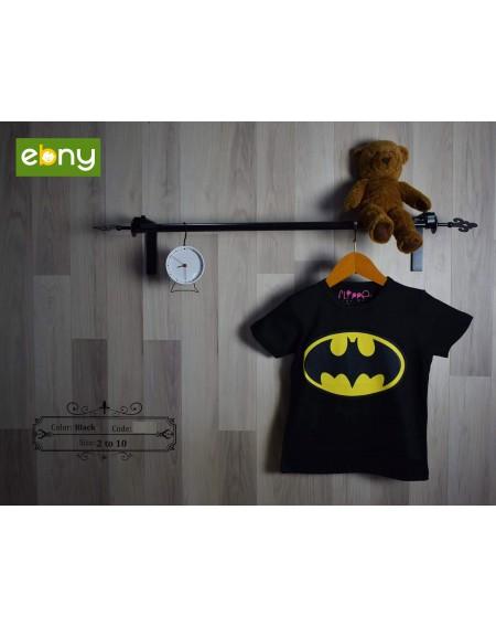 اطفالك أبطال مع تي شيرت فليبر المميز برسمة باتمان من 10:6 سنوات