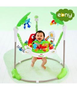 مقعد جامبيرو المميز لأمان وراحة طفلك الصغير وتعلم القفز