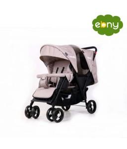 عربة اطفال توأم أمنة ومريحة لطفليك