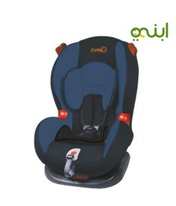 Car seat for children with different seat belts